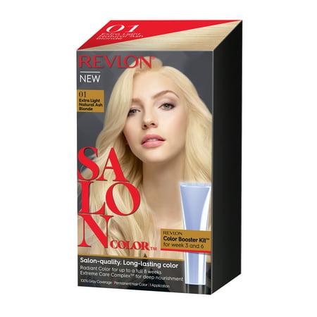 Revlon Salon Hair Color Extra Light Natural Ash Blonde 1