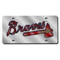 Atlanta Braves MLB Laser Cut License Plate Cover