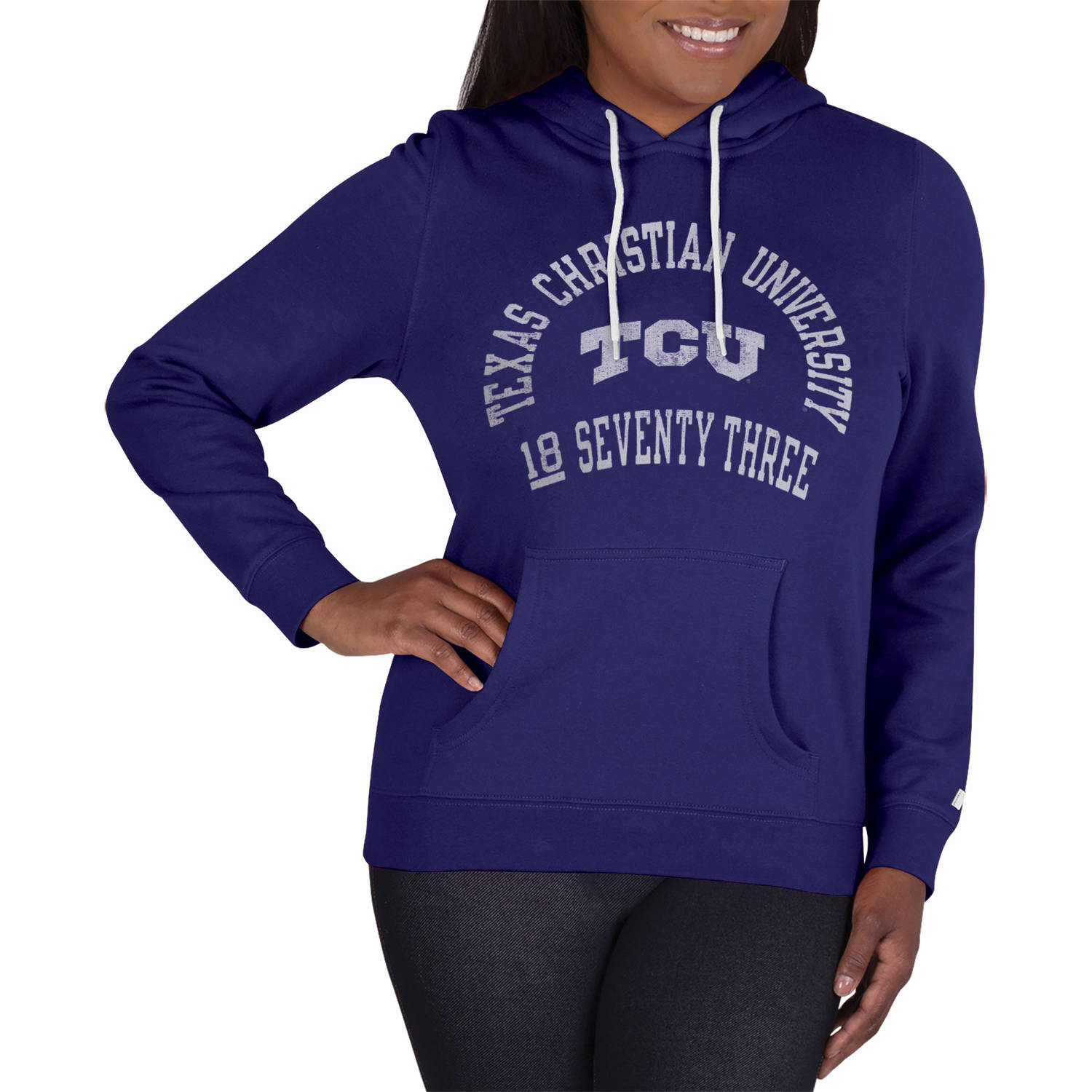 NCAA TCU Horned Frogs Ladies Classic-Fit Pullover Hood