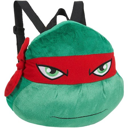 Plush Backpack Teenage Ninja Mutant Raphael Turtle PZTXiuwOk