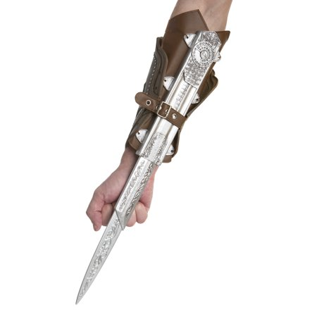 Ezio's Hidden Blade Assassin's Creed Toy Bladed Gauntlet (Ezio Assassin's Creed Brotherhood Costume)
