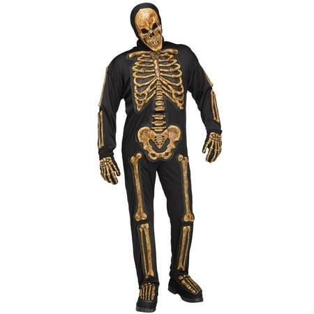 Realistic Skelebones Adult Costume - Realistic Adult Costumes