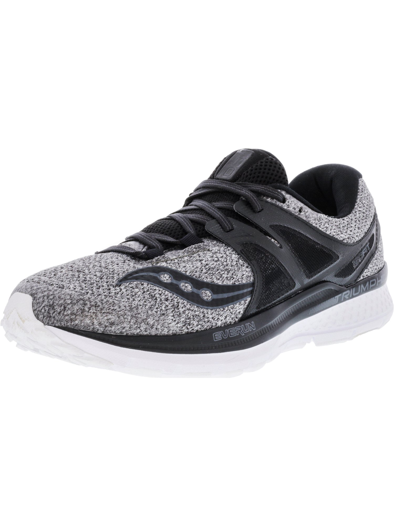 Saucony Men's Triumph Iso 3 Lr Grey   Black Ankle-High Running Shoe 9M by Saucony
