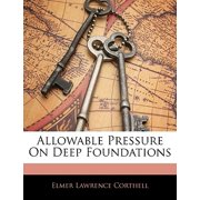Allowable Pressure on Deep Foundations