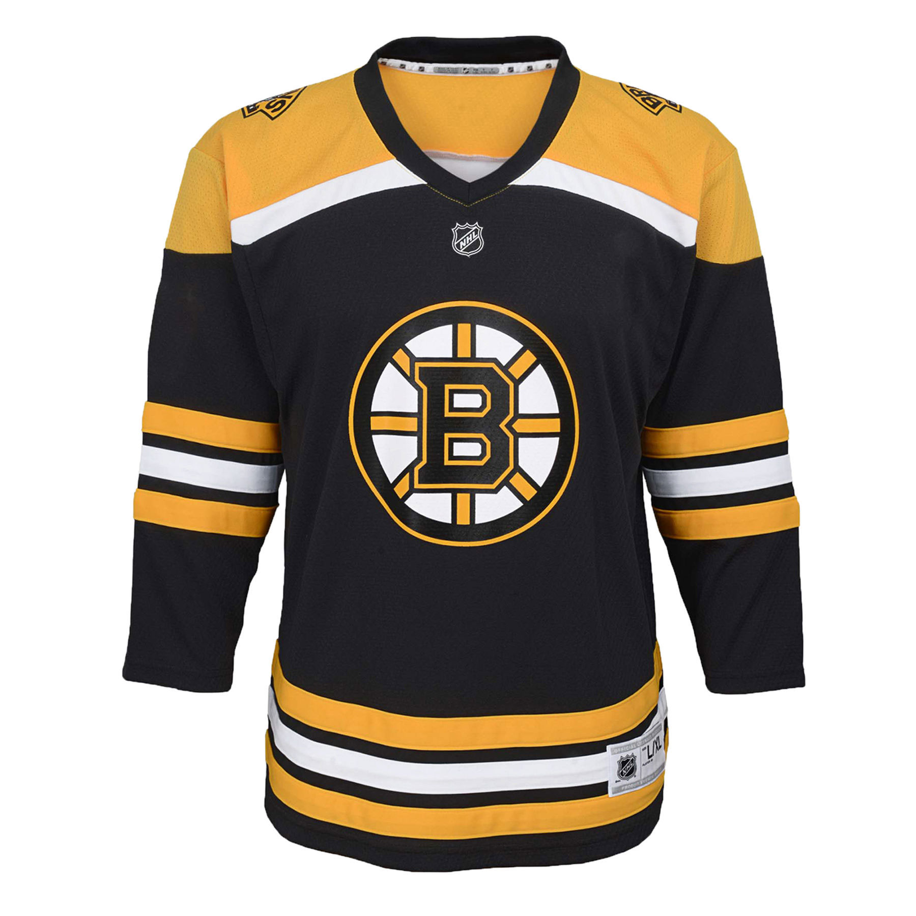 reputable site 76158 794eb Boston Bruins NHL Toddler Replica (2-4T) Home Hockey Jersey ...
