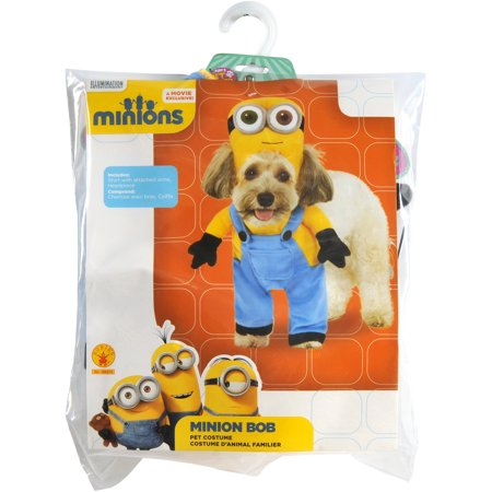 Evil Minion Dog Costume (Minion Bob - Pet Costume)