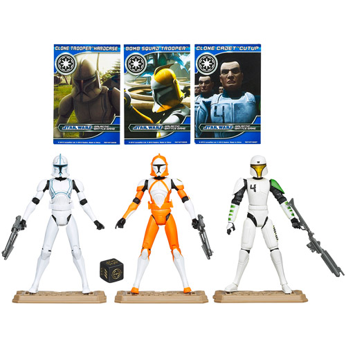 Star Wars Battle Packs Republic Clone Troopers Pack