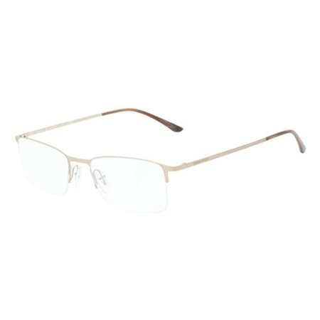 Giorgio Armani AR5010 3038 Gold Semi Rimless Rectangular Eyeglasses Frames (Giorgio Armani Frames)