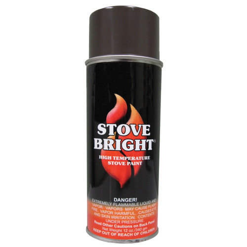StoveBright 12 Oz Glo Brown Stove Bright  High Temperature Aeros (Set of 12)