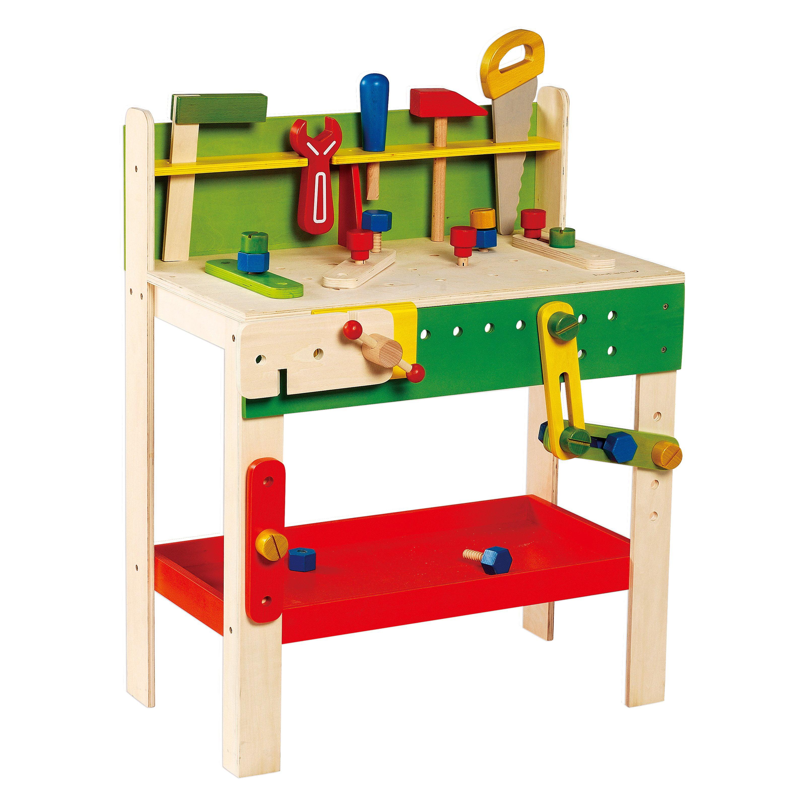Phenomenal Everearth Wooden Carpenter Workbench Walmart Com Short Links Chair Design For Home Short Linksinfo