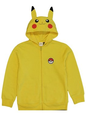 Pokemon Boys' Pikachu Costume Hoodie, Yellow (4/5)