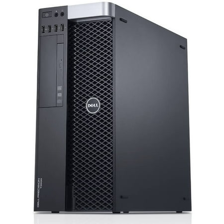Refurbished Dell Precision T3600 Workstation E5-1620 Quad Core 3.6Ghz 16GB 256GB SSD Dual DVI - image 1 of 2