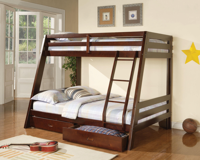 Image result for dark wood bunk beds
