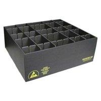 PROTEKTIVE PAK 38701 ESD Divider Box, 34-3/4 x 33-1/2 x3-1/4in