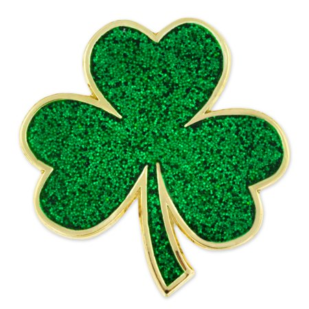 Pinmart S Green Shamrock St Patrick S Day Clover Magnetic Lapel Pin Jewelry