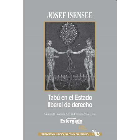 Tabú en el Estado liberal de derecho - eBook