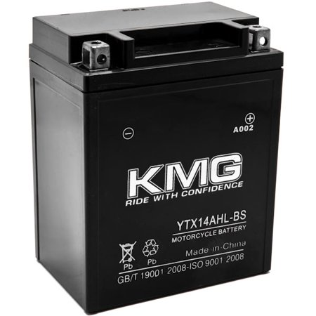 YTX14AHL-BS Battery For Arctic Cat Prowler 1990-1993 Sealed Maintenance Free 12V Battery High Performance SMF OEM Replacement Powersport Motorcycle ATV Snowmobile Watercraft - image 3 de 3
