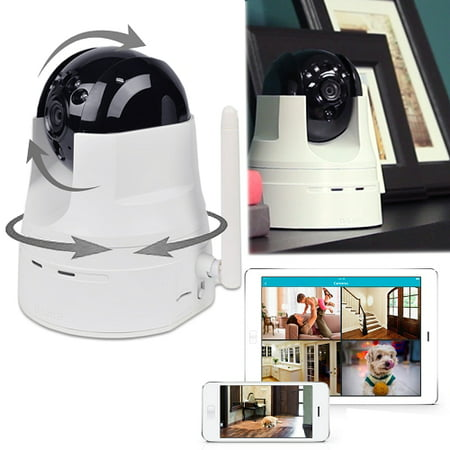 D-Link DCS-5222L 720p Pan Tilt Wireless Surveillance Camera w/ iOS Android App ()