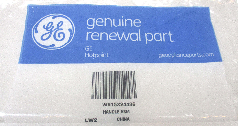 Wb15x24436 Genuine Ge Hotpoint Microwave Handle Ap5957852 Ps10065138
