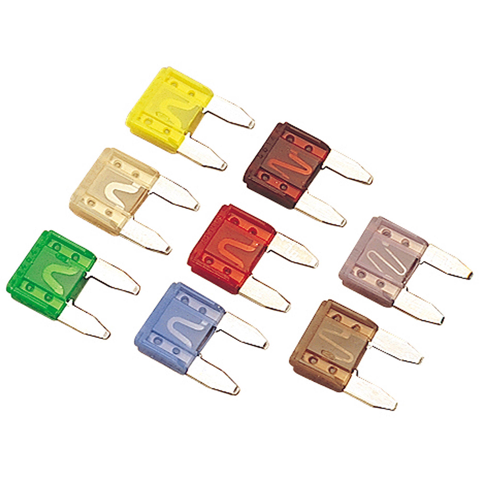 Sea Dog ATM Mini Style Fuse, 10 Amp, Pack of 5