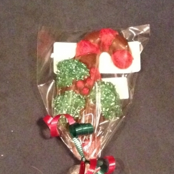 Christmas Candy Cane Lollipop