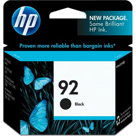 HP, HEWC9362WN, 92 Ink Cartridge, 1 Each