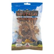 Pure Buffalo 100% Natural Dog Treats, 3.5 OZ