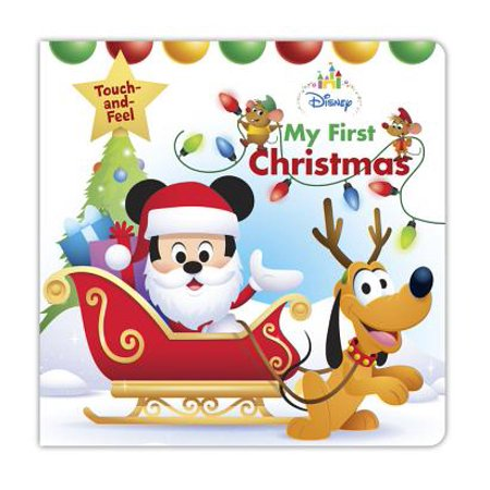 Disney Baby My First Christmas (Board Book) - Great Halloween Books For Toddlers