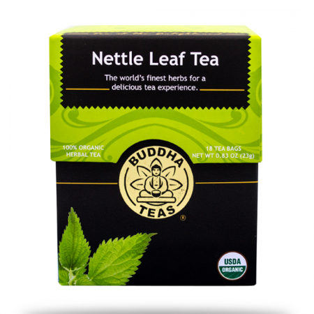Buddha Teas Nettle Leaf Tea, 18 Ct