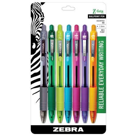 Zebra Z-grip Rt Asst 7pk