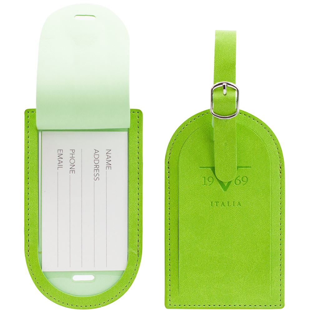 V19.69 Italia by Alessandro Versace Luggage Tags / Card Holder - Set of 2