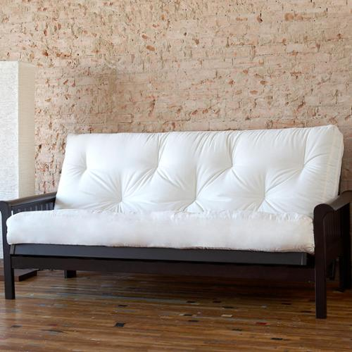 Pocket Coil Full Size 10-inch Futon/ Platform Mattress Navy