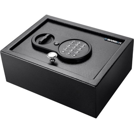 barska top open keypad safe key digital lock 2 live locking bolt s internal size x. Black Bedroom Furniture Sets. Home Design Ideas
