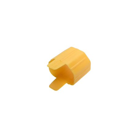 Plug-Lock Inserts, Detachable C13 Power Cord/C14 Inlet, Yellow, 100 (Yellow C 13)