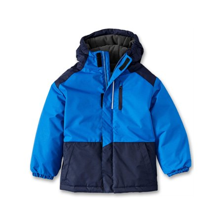 Iceburg Baby Toddler Boy Winter Coat with Reflective Piping ()