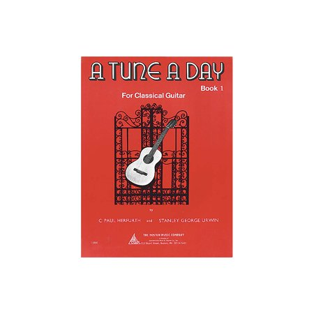 Boston Music A Tune a Day - Classical Guitar (Book 1) Music Sales America Series Written by C. Paul