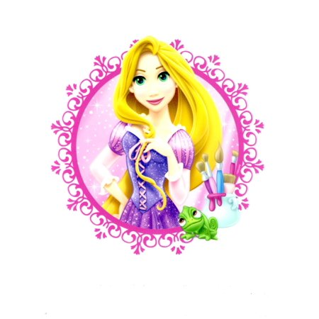 Tangled Rapunzel Edible Cupcake Toppers Decoration Icing Image](Rapunzel Cake Walmart)