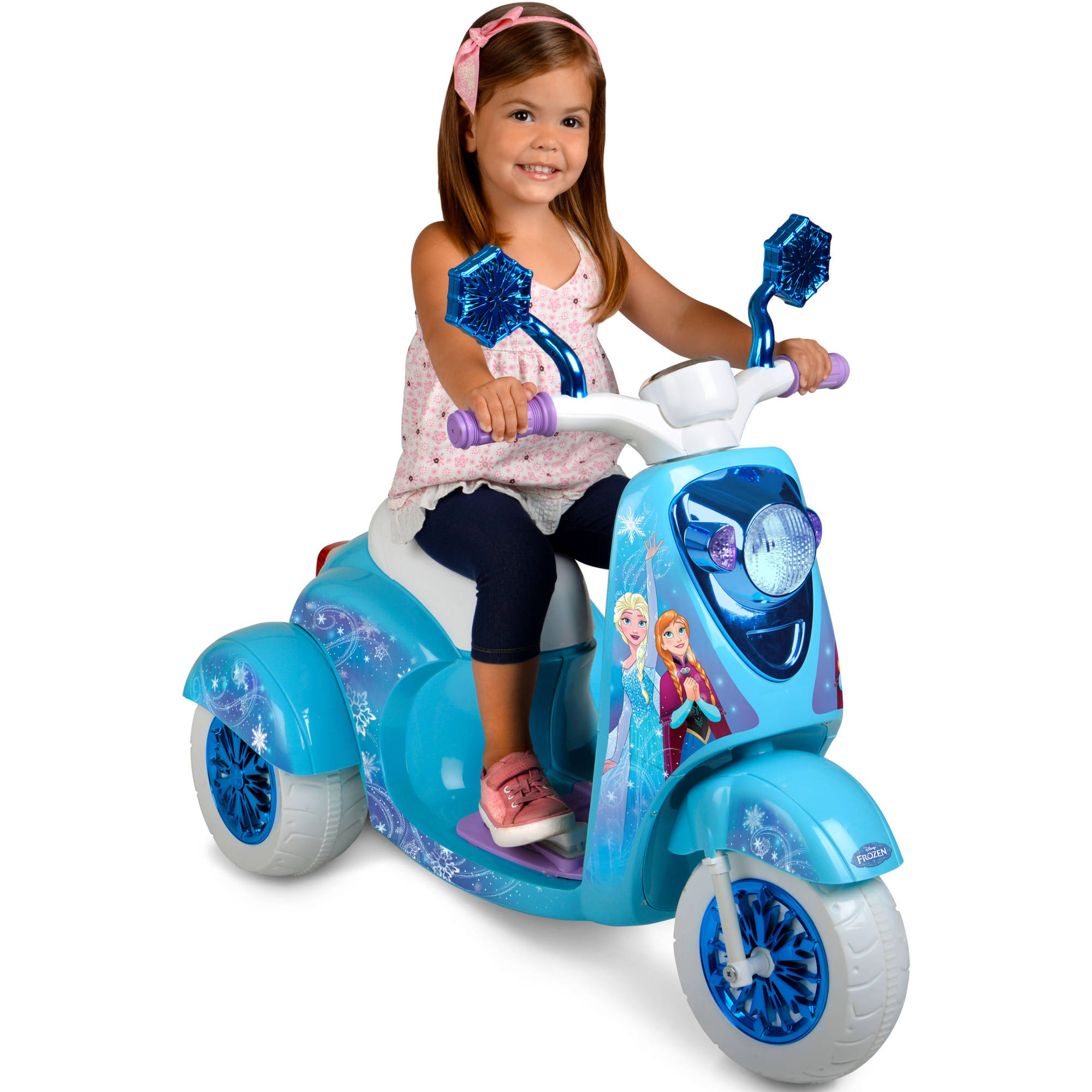 6V Disney Frozen 3-Wheel Scooter Ride On