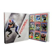 Football Trading Card Collection Album Kit, 10 Pages Included (No Cards)