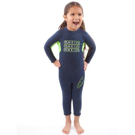 O'Neill Toddler & Little Kids Neoprene Full Body Wetsuit for Slender Children ()