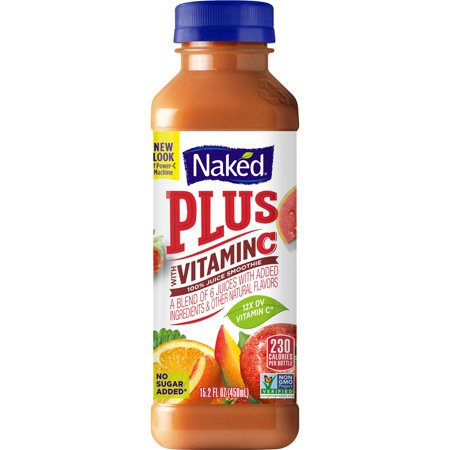 Naked Juice Boosted Smoothie, Power-C Machine, 15 2 oz Bottle