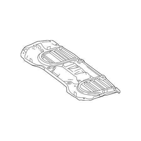 Genuine OE Mercedes-Benz Rear Shield 166-520-05-23