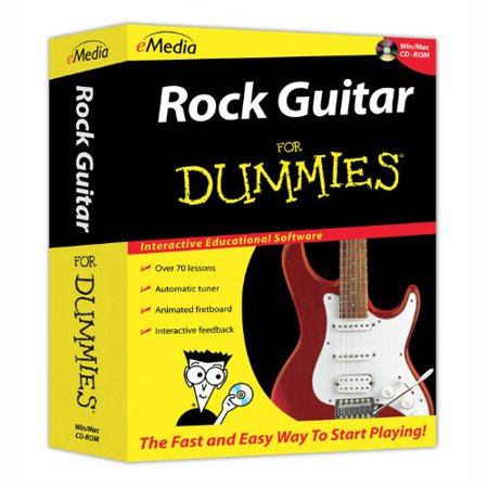 eMedia for Dummies FD06101 Rock Guitar for Dummies CD-ROM (PC and Mac)