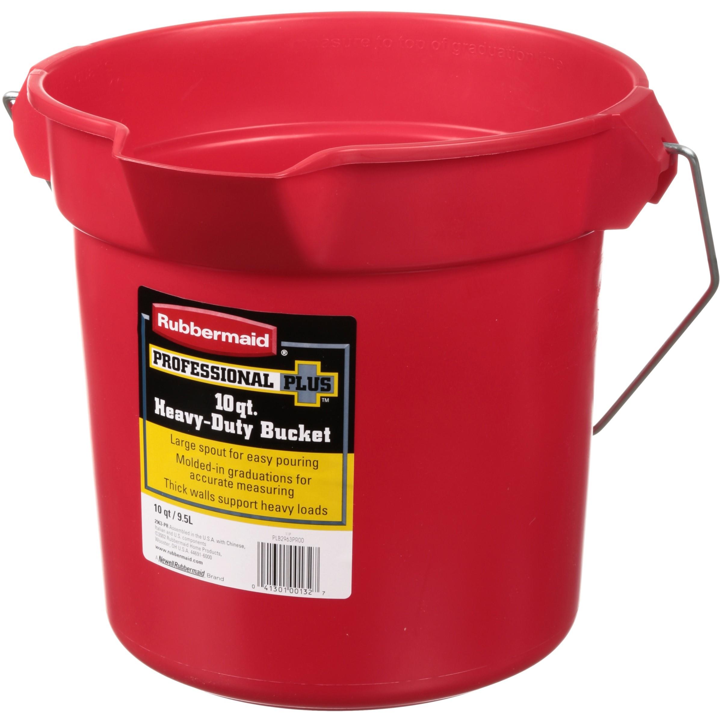 Rubbermaid® Professional Plus™ 10 qt. Heavy-Duty Bucket