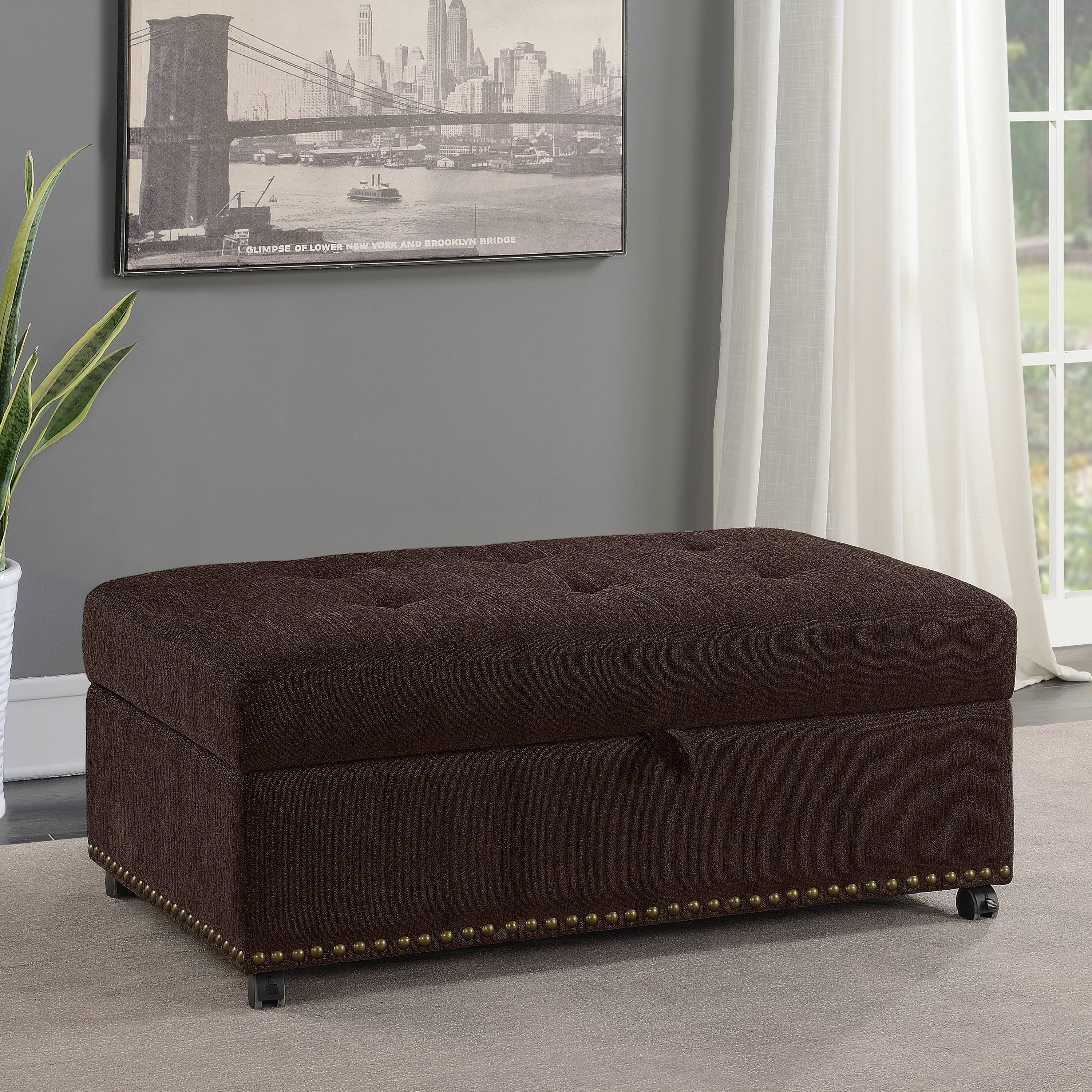 Mainstays Pull Out Sleeper Ottoman