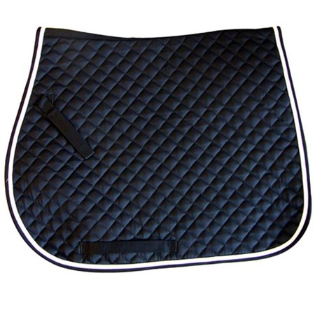Exselle 158553NRW All Purpose Quilted Saddle Pad Navy Red White