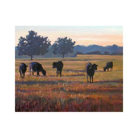 Foggy Morning Light Print Wall Art By Patty (Bakers Complete Light)