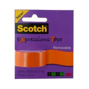Scotch Expressions Removable Tape in Orange - Set of 12