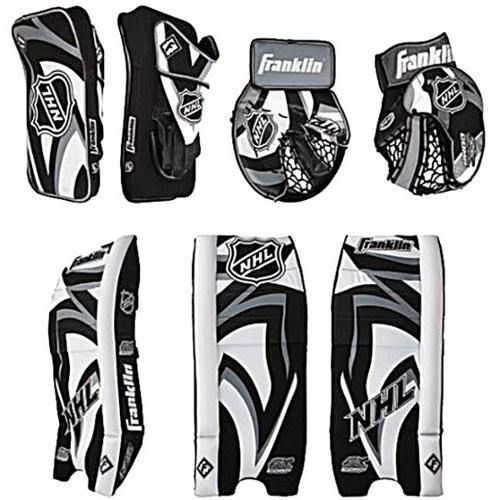 Franklin 12092F2 NHL S-M Complete Goalie Gear Set Junior