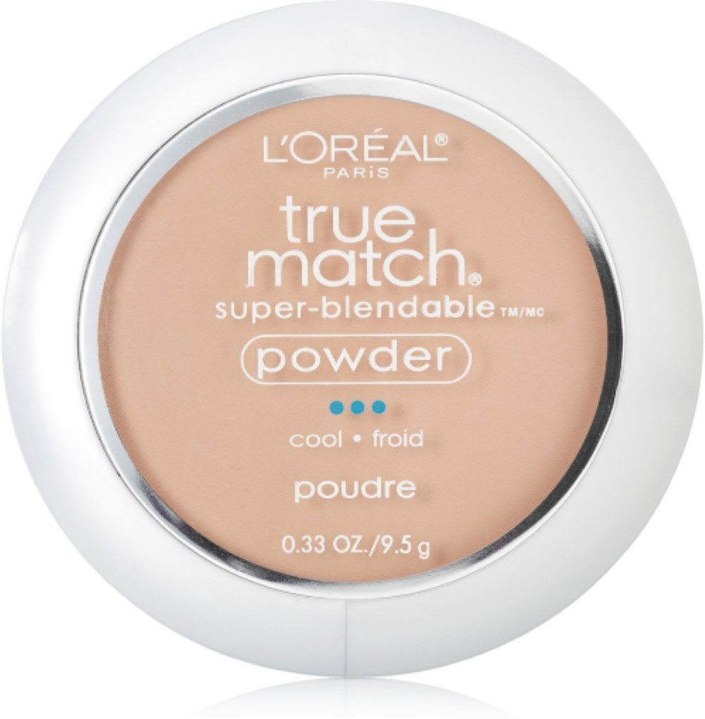 L'Oreal True Match Powder, Creamy Natural [C3], 0.33 oz (Pack of 6)